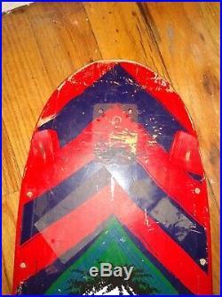 Vintage Rare 1985 Original Powell Peralta Steve Steadham Skateboard Deck