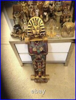 Vintage Rare Santa Cruz Egyptian Pharaoh Mummy Skateboard Deck Jim Phillips