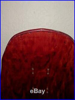 Vintage Red Shut Street Posse Skateboard Deck. HTF