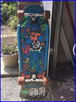 Vintage Rob Roskopp Target V Santa Cruz Skateboard
