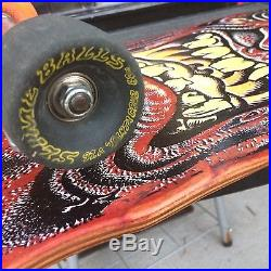 Vintage SANTA CRUZ Rob Roskopp Skateboard Original Not Reissue Complete