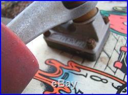 Vintage Santa Cruz Claus Grabke Melting Clocks Skateboard Independent Rat Bones