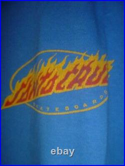 Vintage Santa Cruz Jeff Grosso Vtg Toybox Skateboard Shirt Large