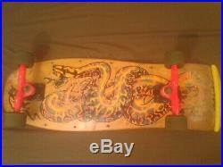 Vintage Santa Cruz Jeff Kendall complete skateboard with Gullwings & Slime Balls