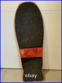 Vintage Santa Cruz Rob Roskopp IV Skateboard Deck