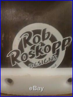 Vintage Santa Cruz Rob Roskopp Skateboard Not Reproduction