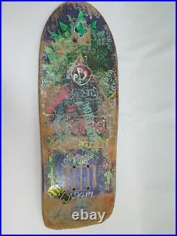 Vintage Santa Cruz Santa Monica Airlines Natas Kaupas Skateboard Deck