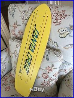 Vintage Santa Cruz Skateboard Deck 70s NOS Fiberglass 1978