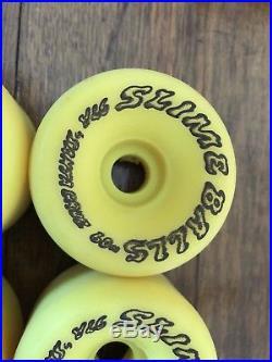 Vintage Santa Cruz SlimeBalls Speed Wheels Skateboard Wheels NOS NEW