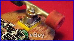Vintage Sims Eric Nash skateboard 1987 Venture trucks, rat bones, OG vision, g&s