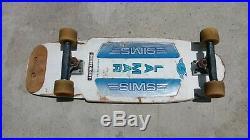 Vintage Sims LAMAR Skateboard Complete