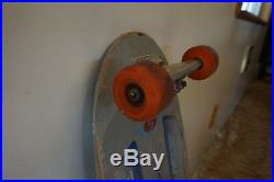 Vintage Sims Lamar skateboard with trackers and OJ's. Original