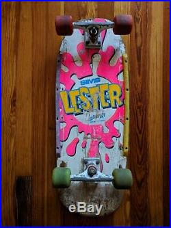 Vintage Sims Lester Kasai OG Skateboard 1980s Vision wheels