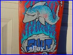 Vintage Skateboard Assult SHUT SHARK Zoo York 1988 NOT REISSUE USA Ultra Rare OG
