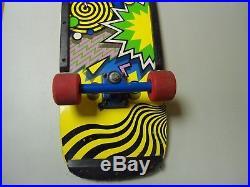 Vintage Skateboard Brand X Weirdo NOT Reissue Original 1985 Powell & Peralta