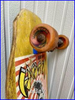 Vintage Skateboard Christian Hosoi Hammer Head