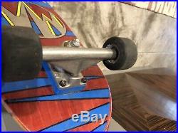 Vintage Skateboard, Complete B. B. C. Monty Nolder Mini