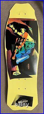 Vintage Skateboard Deck 80's Christian Hosoi Hammerhead Street Model Santa Cruz