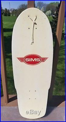 Vintage Skateboard Deck NOS Sims Lamar Prototype Very Rare 70's old school