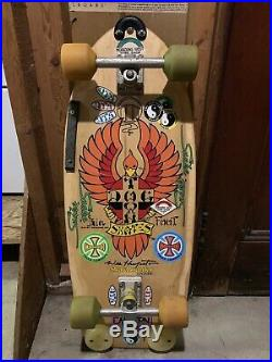 Vintage Skateboard Dog Town