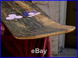 Vintage Skateboard Lester Kasai 1986 Tracker Leaf VTG Genuine Not Re-Issue USA