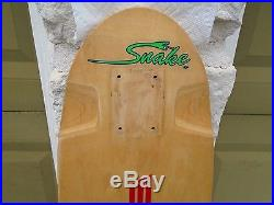 Vintage Skateboard Lonnie Toft Sims Schmitt Stix Snake Lonnie Toft OG Genuine US
