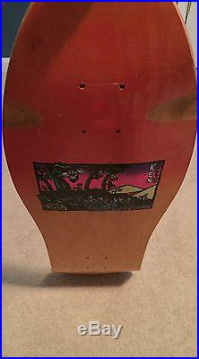 Vintage Skateboard NOS G&S Ken Fillion original Art by Neil Blender 1986