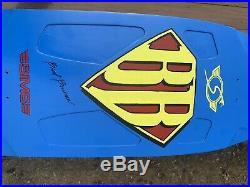 Vintage Skateboard NOS Sims Brad Bowman Tribute on Sims Bowman Blank 1970s