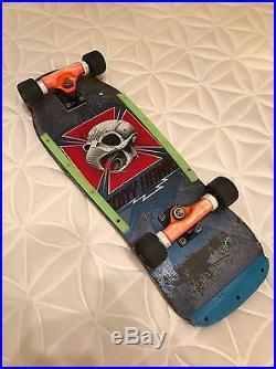 Vintage Skateboard Powell Peralta Tony Hawk Original 80s With Boneite Construction