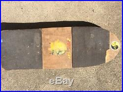 Vintage Skateboard Prototype Experimental Sims Comp 2 Independent Trucks Powell
