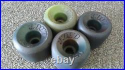 Vintage Skateboard Wheels Gordon & Smith G&S YoYos USED mixed set of (4) four