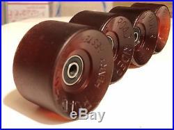 Vintage Skateboard Wheels Henry Hester rare road rider sims logan