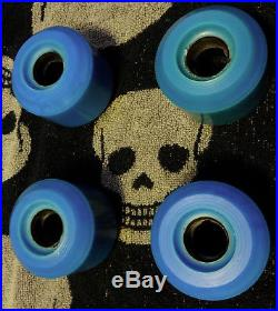 Vintage Skateboard Wheels Kryptonics Ck65 Double Conicals Late 70's