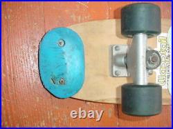 Vintage Stacy Peralta Warp Tail Skateboard Tracker Trucks Sector 9 Balls Wheels