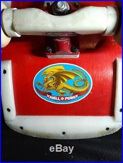 Vintage Tony Hawk Powell Peralta 1983 Old School Complete Original Skateboard 10