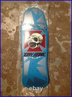 Vintage Tony Hawk Powell Peralta Skateboard Deck Original XT Signed