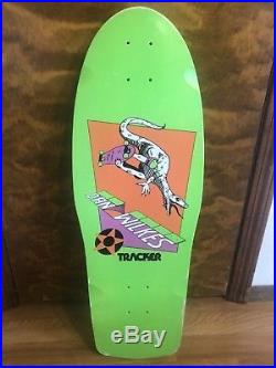Vintage Tracker Dan Wilkes Raptor NOS Skateboard Deck 1985 OG GSD Art Rare