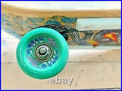 Vintage Tracker Lester Kasai Skateboard Deck