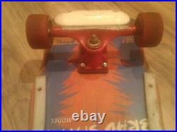 Vintage Uncle Wiggley Brad Smith complete skateboard with Trackers & Toxic