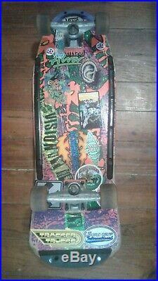 Vintage VISION Lobster Tail complete skateboard with ALVA Naturals & Indy trucks