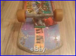 Vintage VISION Lobster Tail complete skateboard with Gullwing Pro & Bullet 66's