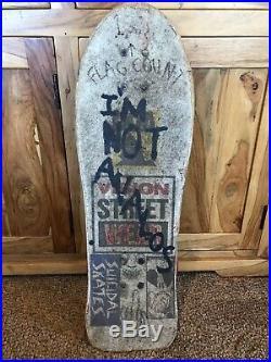 Vintage VISION STREET WEAR SKATEBOARD RARE