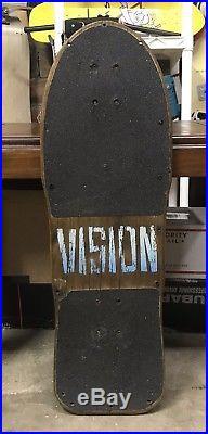 Vintage Vision Gator Mark Rogowski Pro Model Skateboard Deck. Alva Hawk Hosoi