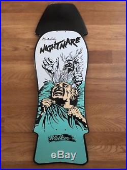 Vintage Walker Mark Lake Nightmare Skateboard Deck 1986 Very Rare OG Grail NOS