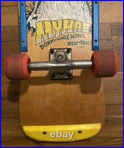 Vintage Zorlac Donny Myhre Skateboard 80s Pushead Original Santa Cruz Powell