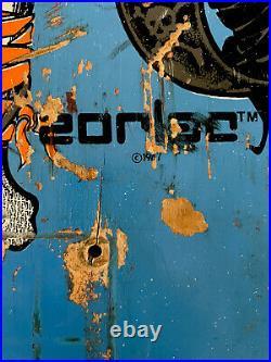 Vintage Zorlac Pirate Metallica Skateboard