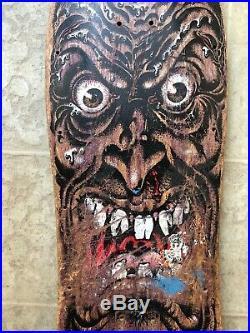 Vintage old school Santa Cruz Rob Roskopp Face skateboard original not reissue
