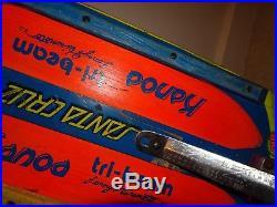 Vintage oldschool skateboard Z roller KONOA tri beam  dogtown sims