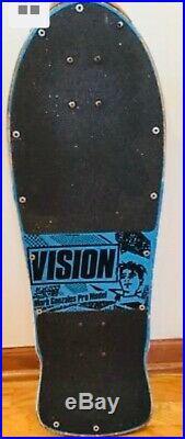 Vintage original Mark Gonzales Vision skateboard 1985