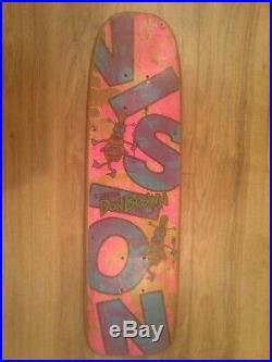 Vintage original VISION Don Brown Pro Model Freestyle Skateboard Deck